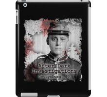 After Dark Investigations - Paranormal Civil War Tee iPad Case/Skin