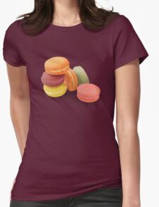 macarons 2! Womens Fitted T-Shirt