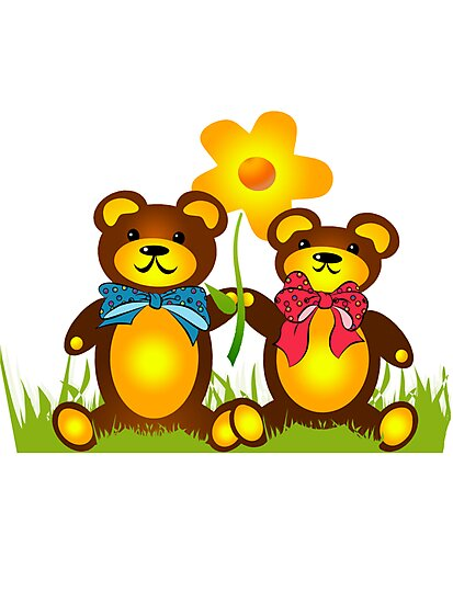 Teddy Bears by Maria Horvath