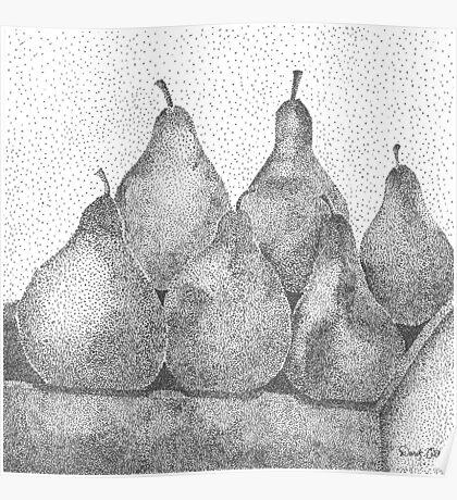 Pear Minimum  Poster
