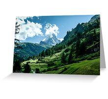 zermatt (002), (matterhorn) Greeting Card