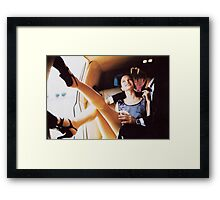 M Blackwell - First Date Framed Print