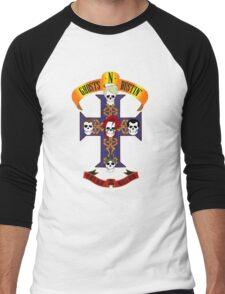 Ghosts N Bustin' Rock T-Shirt Men's Baseball ¾ T-Shirt