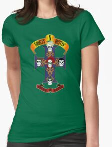Ghosts N Bustin' Rock T-Shirt Womens Fitted T-Shirt