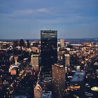 Top of the Prudential  by Tom Cadrin