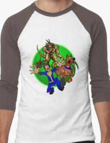 Dogmeat Doo! Men's Baseball ¾ T-Shirt