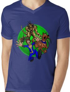 Dogmeat Doo! Mens V-Neck T-Shirt
