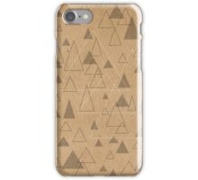Triangulation iPhone Case/Skin