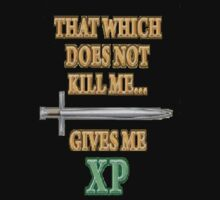 RPG XP T-shirt.  by OriginalO