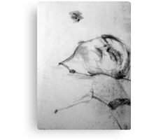 Life Drawing Study 11. Canvas Print
