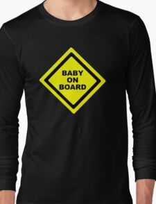 Baby on Board Long Sleeve T-Shirt
