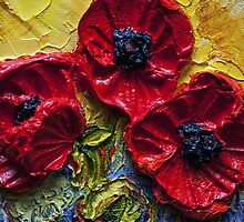 Red Poppies by OriginalbyParis