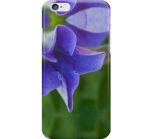 Cobalt Blue Petal Abstract iPhone Case/Skin