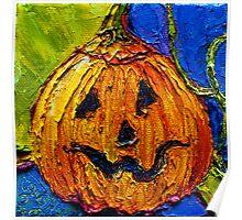 Halloween Jack-O-Lantern Poster