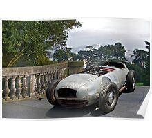 1930X WTH IZIT Race Car II Poster
