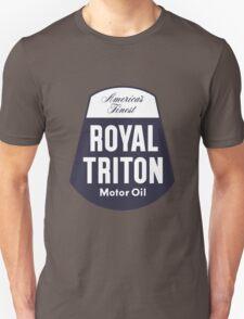Vintage Royal Triton Motor Oil Unisex T-Shirt