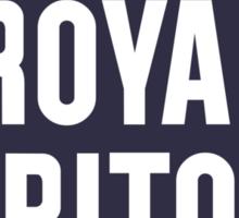 Vintage Royal Triton Motor Oil Sticker