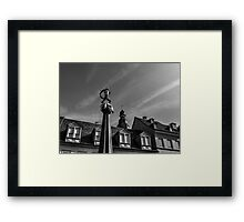 Sculpture in Speyer Rhineland Germany Framed Print