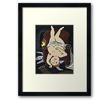 Startling Seduction Framed Print