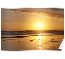 Sunset over Barwon Heads Poster