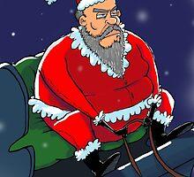 Santa  by NathanMatosArt