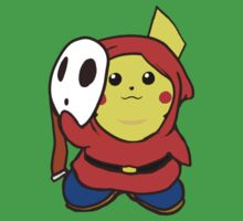 ShyGuy Pikachu Mashup. by Hunter-Blaze