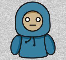 Blue Hoodie Kids Tee