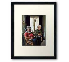 a wee draught or two Framed Print