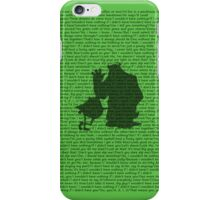 If I Didn't Have You iPhone Case/Skin