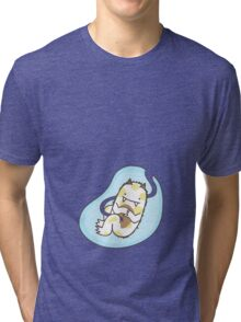 Monster Fetus Tri-blend T-Shirt