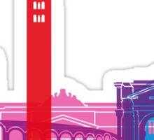 Verona skyline pop Sticker