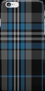 01612 Australian Police Tartan Fabric Print Iphone Case by Detnecs2013