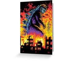 King of the Monsters Greeting Card