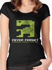1983 - Never Forget Women's Fitted Scoop T-Shirt