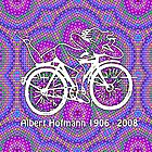 Albert Hofmann - Bicycle  by TheJoesif