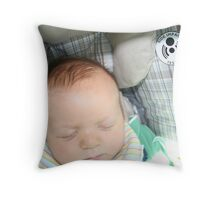 Baby Seat Throw Pillow