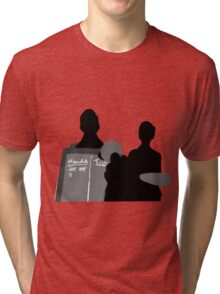 Heads? Or tails?  Tri-blend T-Shirt