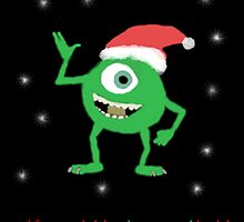 Monsters Inc. Christmas! by schermer