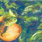 L&#x27;Orange II (pastel) by Niki Hilsabeck