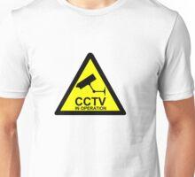CCTV Notice Unisex T-Shirt