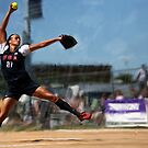 Women's Softball Jennie Finch by art-hammer