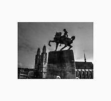 Hans Waldmaan Equestrian Monument Zurich Switzerland Unisex T-Shirt