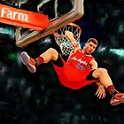 Los Angeles Clippers Blake Griffin by art-hammer