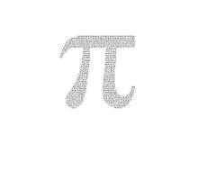 White Pi Typography by Doyle1995