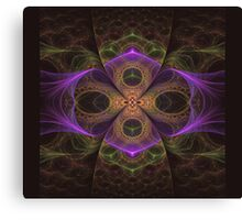 Signum cross over Canvas Print