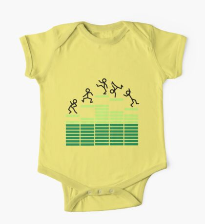 Dancing on the Equalizer One Piece - Short Sleeve
