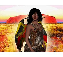 Keeper of the Dreamtime Photographic Print