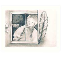 A Message for Annie Art Print