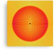 Citrus Sphere Canvas Print