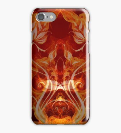 Double Flam iPhone Case/Skin